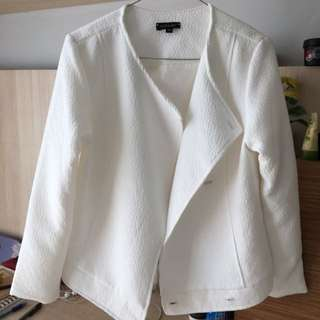 Cloth inc White Jacket