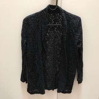 Completely lace Black Jacket Size 8