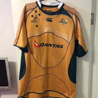2000 Ruby Union Australia Authentic Wallabies Qantas 澳洲欖球隊
