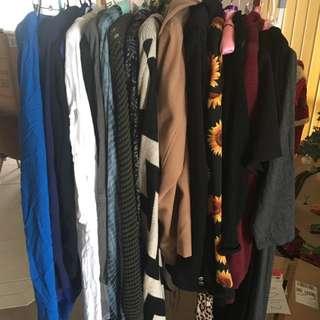 BULK CLOTHES SIZE XL/16