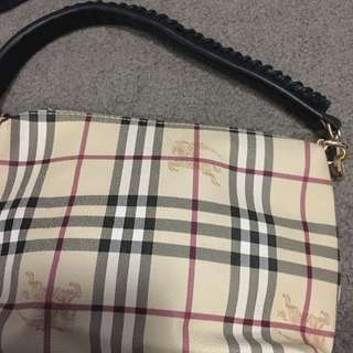 Brand New BURBERRY Small Shoulder Bag Cosmetic Case