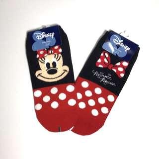 韓國帶回米妮&蝴蝶結直板襪 短襪