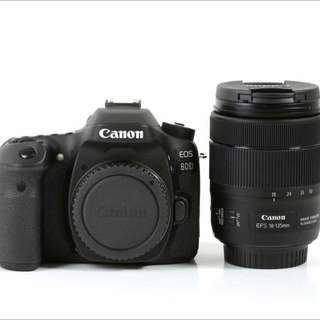 Canon 80D + 18-135mm F/3.5-5.6 IS USM LENS (RESERVED)