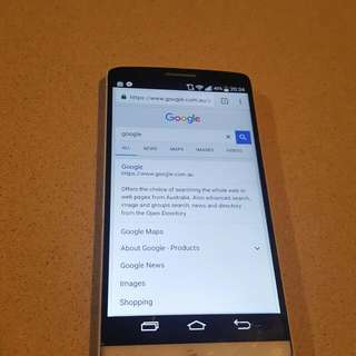LG G3 5.5 Inch Screen Good Condition Works Perfect