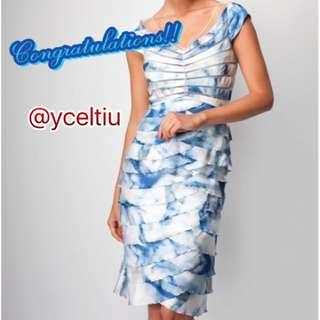 GIVEAWAY Studibaker Ocean Blue Dress