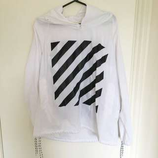 Oversize Off White Jacket