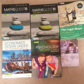 YEAR 11 Text Books