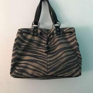 Authentic Oroton Leopard Print Shoulder Bag