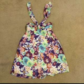 Dotti Floral Print Dress XS
