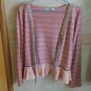 韓國粉紅色外套 Korean Pink Cardigan