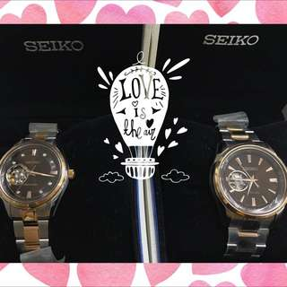 Perfect Wedding/ V-day Gift! Seiko Presage Automatic Couple Watches