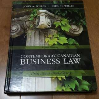 Contemporary Canadian Business Law 8th Ed (Yorku)