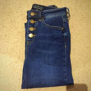 Forever New Heidi High Waist Ankle Grazer Jeans