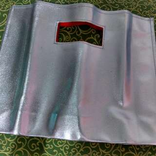 Free Silver Pouch