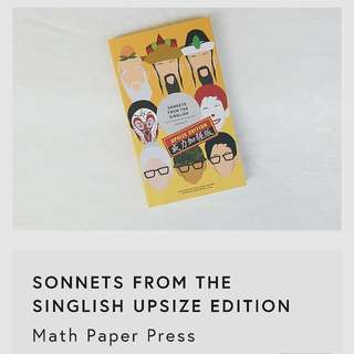 Sonnets From The Singlish (Upsized Edition) By Joshua Ip