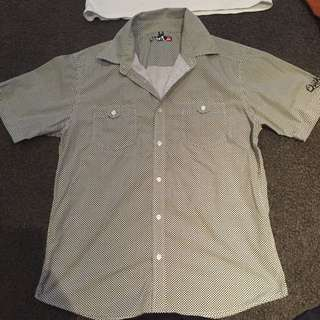 Quilsilver Button Up