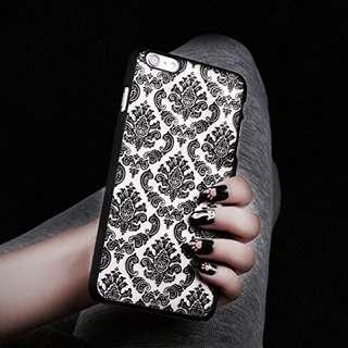 Damask Pattern iPhone Case