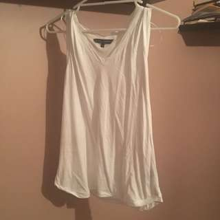Dani Minogue White Singlet
