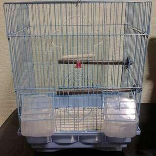 Blue Colour Bird Cage