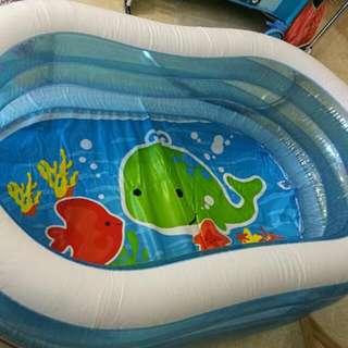 Baby Aquarium Swimming Pool + Air Pump