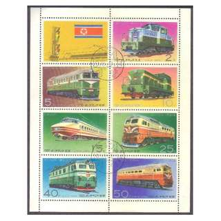 Souvenir Sheets (Locomotives, Ships, Airplanes, Transportation, 水陆空运输)