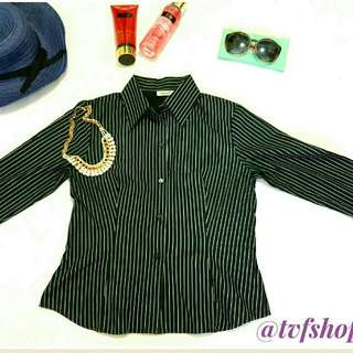 Black Stripes Blouse