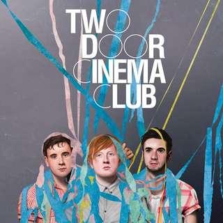 1x CAT 4 TWO DOOR CINEMA CLUB TICKETS
