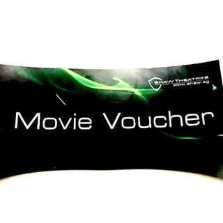 4 Shaw Movie Vouchers