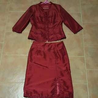 I-shanghai Kebaya Top, Chinese Costume Two Piece