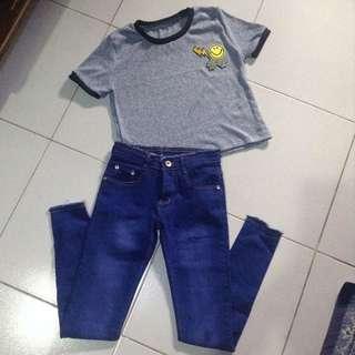 Crop Top & Pants