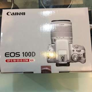 Canon 100D Kit EF-S 18-55 IS STM