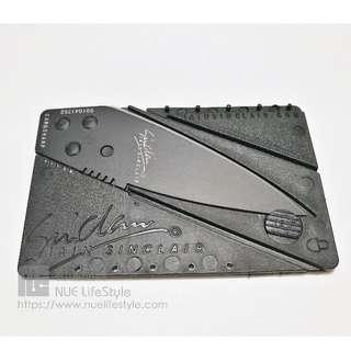 BN Stainless Steel Card Knife