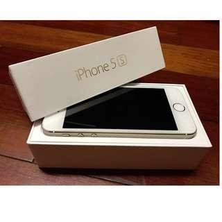 iPhone 5s 16G 金色 6 6S 7 可參考