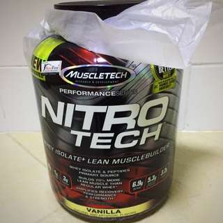 Nitro-Tech Performance Series (4 Lbs)
