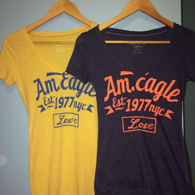 2 American Eagle T-Shirts