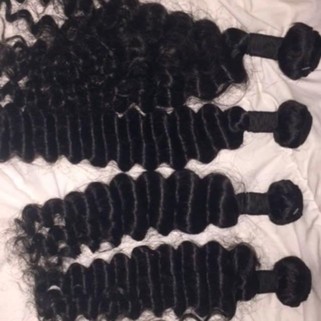 4 Bundles Of Brazilian Hair