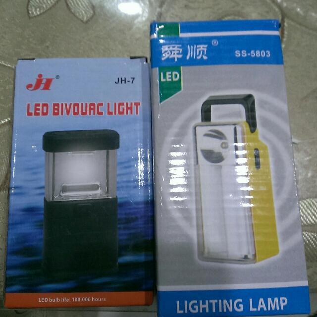 露營燈+手電筒