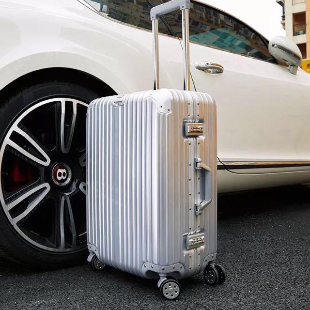 拉桿箱萬向輪箱子旅行箱包鋁框行李箱韓版密碼箱