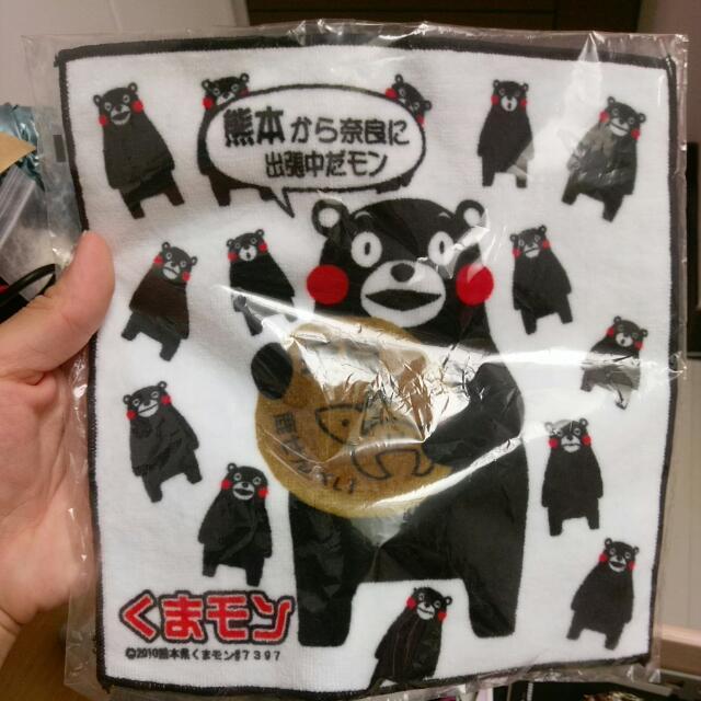熊本熊手帕