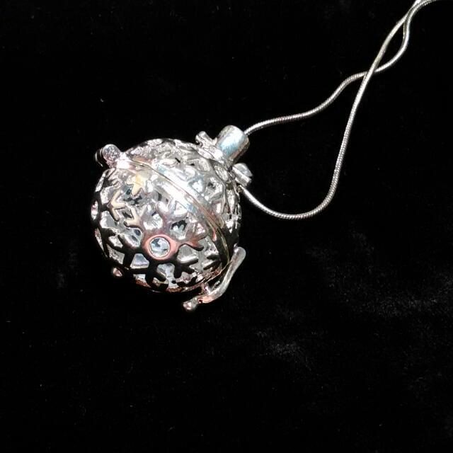 💎石香紀💎 免塞精油冰雪款純銀鎖骨鍊