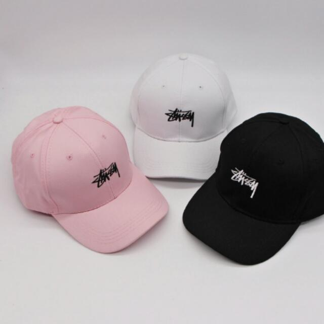 d2a2b29d846 Adjustable Unisex Baseball Cap Hat Hip hop Letter Embroidery Snapback Hats  for Men Women Black White Pink