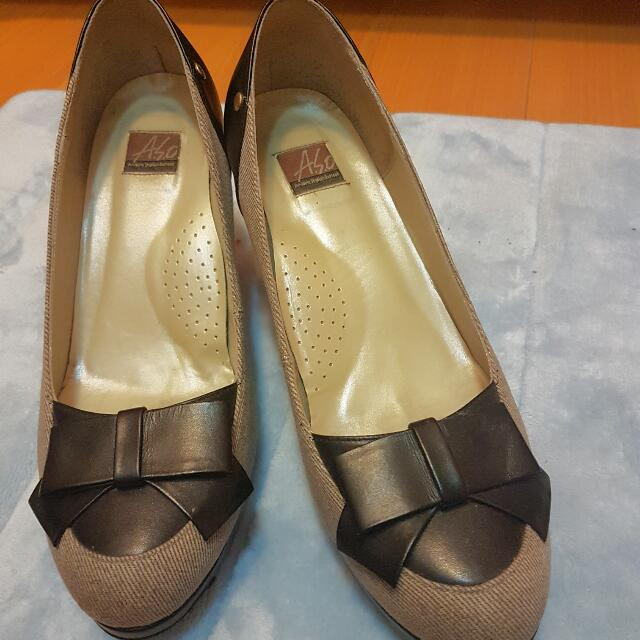 A.S.O阿瘦皮鞋氣質OL中跟鞋