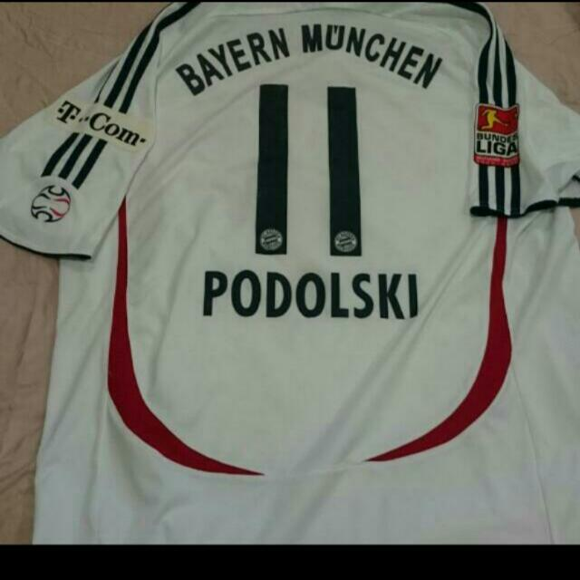 e117e5bf Authentic Bayern Munich Away Football Jersey 2006/07 Mint Condition,  Sports, Sports Apparel on Carousell