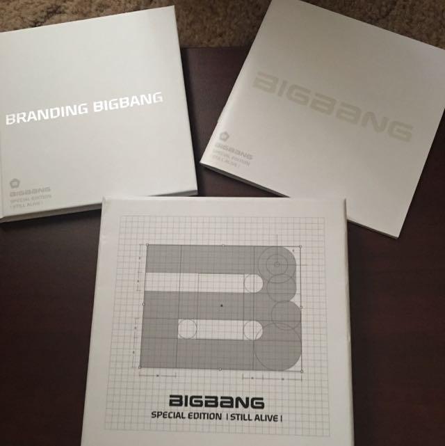 Big Bang Still Alive Album (Special Edition )