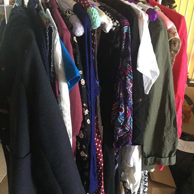 BULK CLOTHES SIZE L/14