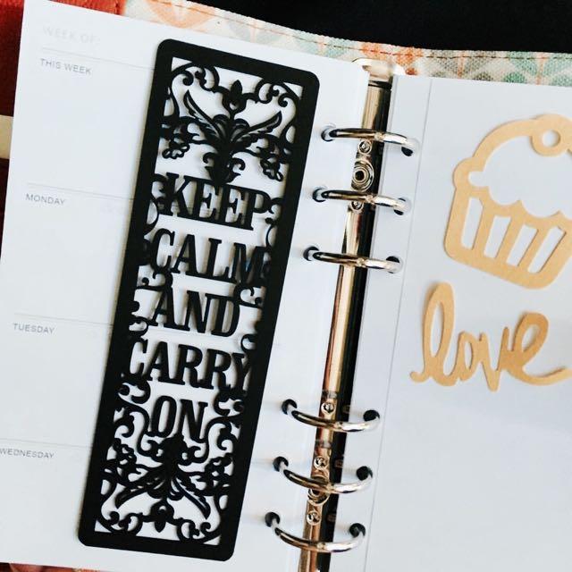 Carved Bookmark