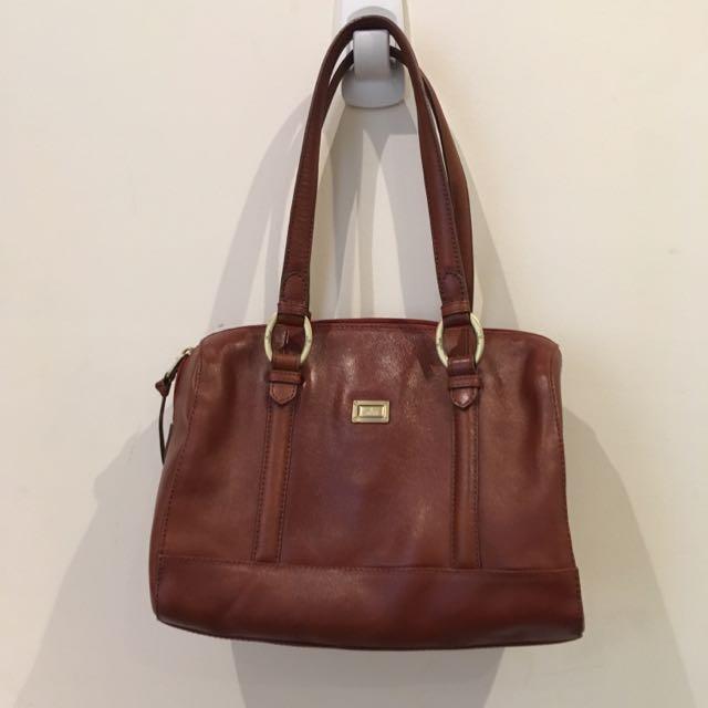 Cellini Genuine Leather Bag