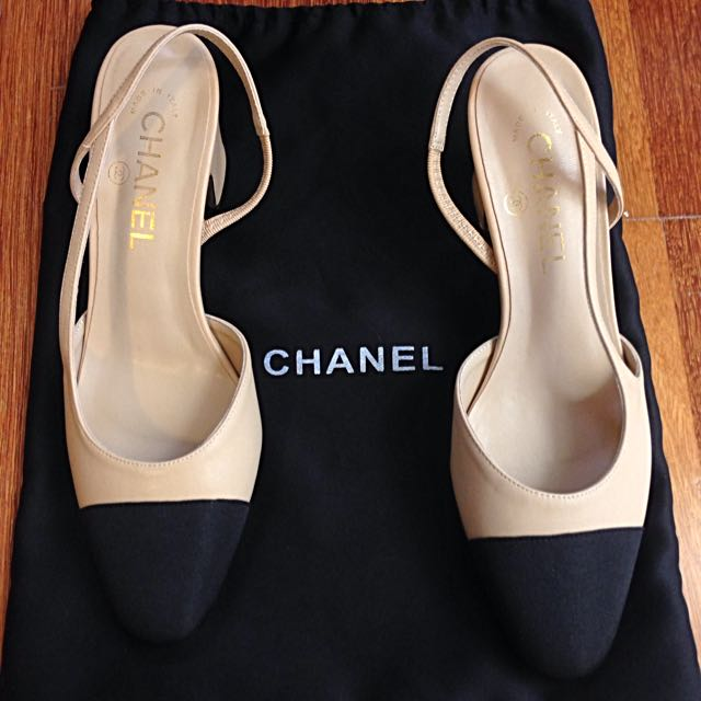 Chanel Slingback Size 38