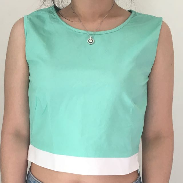 Christina Wu Crop Top