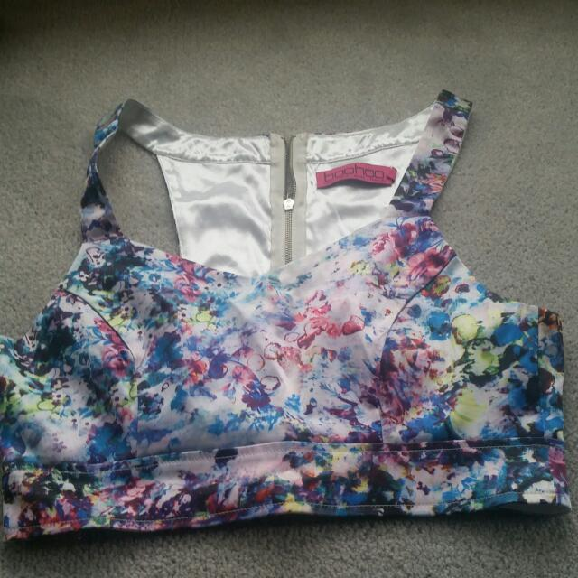 Colourful Womens Crop Top